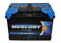 Автомобильный аккумулятор Mercury 6СТ-60 Аз Special