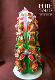 Венецианские резные свечи от ELITE CANDLES - 100% ручная робота
