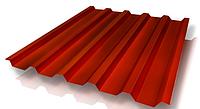 Профнастил кровельный НС-44 Красный 0,4 мм (с порезкой)
