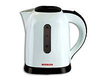 Чайник электрический с подсветкой Vitalex VL-2027, электрочайник 1,5 л, компактный чайник электро