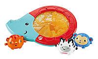Fisher-Price Игрушка для ванной слоник и животные брызгалки Splash & Scoop Elephant