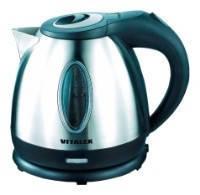 Чайник электрический Vitalex VT-2010, электрочайник 1,2 л, компактный электрический чайник для дома