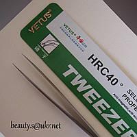Пинцеты Vetus ST-11,прямой, Ветус