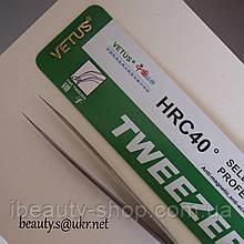 Пінцети Vetus ST-11,прямий, Ветус