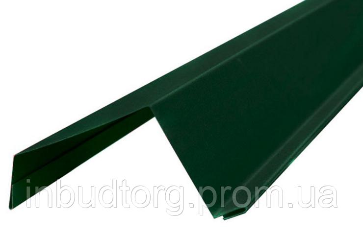 Планка ветровая (торцевая) 2 м (цветная в ассортименте) - ИнБудТорг в Днепре