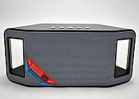 Портативная Bluetooth колонка WSTER WS-Y66B, радиоприемник колонка wster, музыкальная блютуз колонка