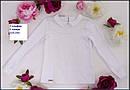 Гольф нарядный на девочку Самира Размер 152 Белый Молочный цвет, фото 2