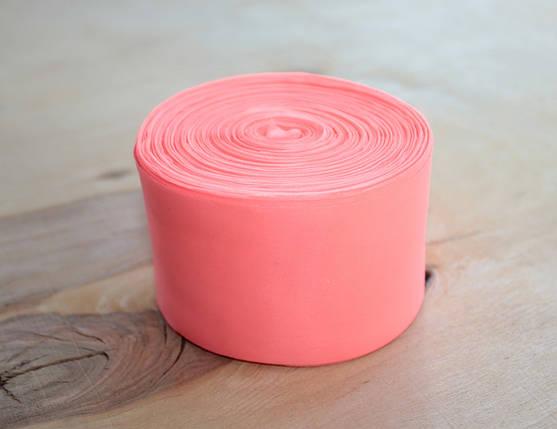 Лента шелковая ярко розовая 5см, фото 2