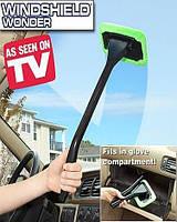 Швабра для чистки лобового стекла автомобиля Windshield Wonder, Щетка для чистки стекол и зеркал автомобиля,