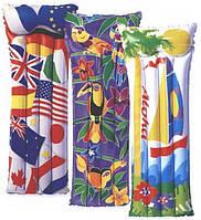 Матрас тканевый 75*26см 4117, детский матрас для купания, детский надувной матрас для плавания