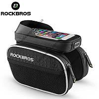 Велосумка RockBros на раму с боковыми карманами