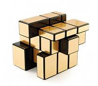 Зеркальный кубик Рубика золото