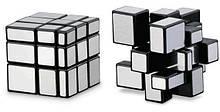 Дзеркальний кубик Рубіка срібло