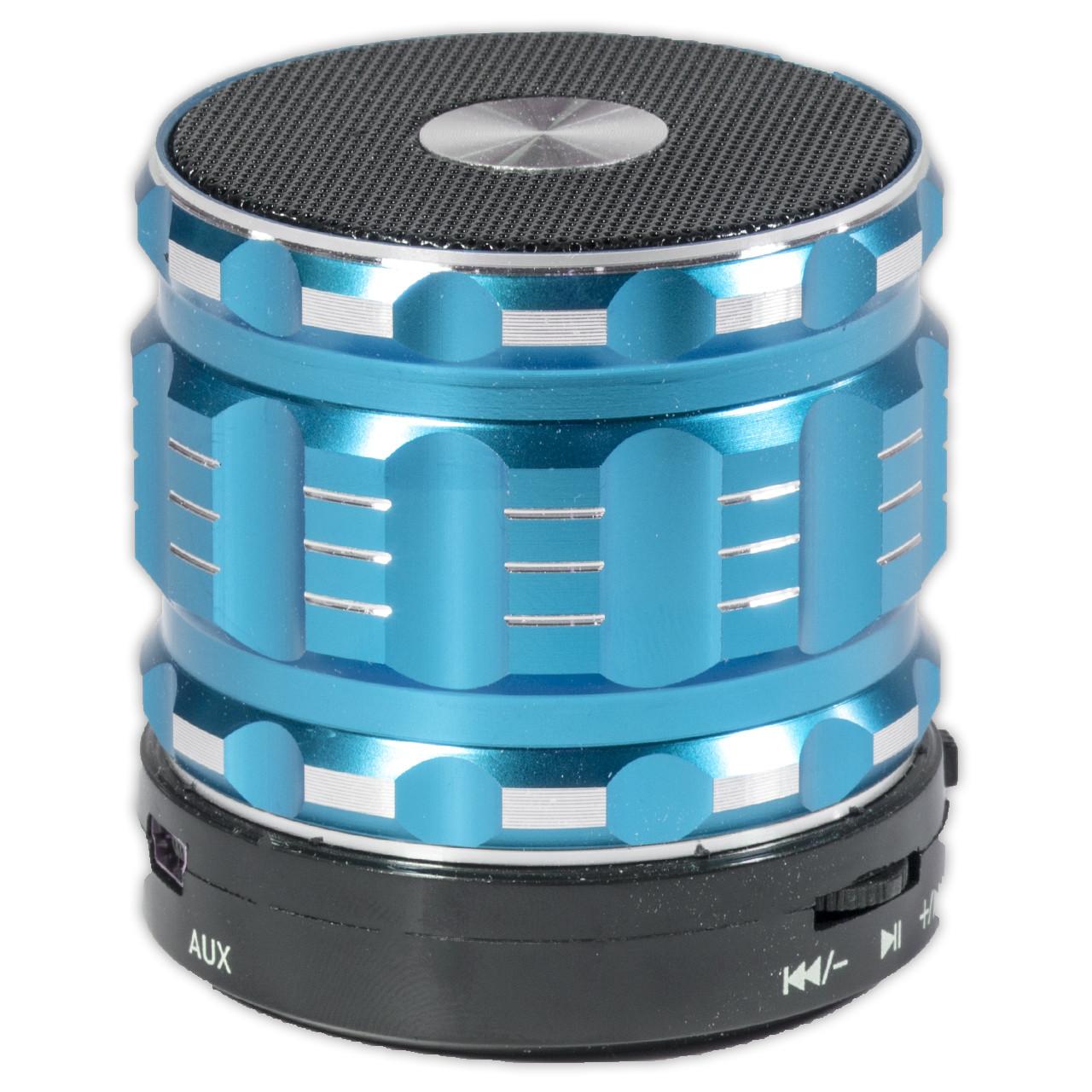 Колонка портативная BL Lesko S28 Bluetooth синяя спикер музыка MP3 музыкальный динамик для телефона смартфона