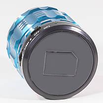 Колонка портативная BL Lesko S28 Bluetooth синяя спикер музыка MP3 музыкальный динамик для телефона смартфона, фото 3