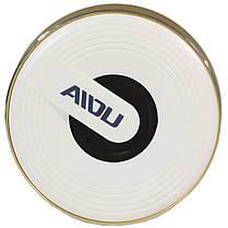 Портативный динамик BL AIDU Q1 золотистый AUX MP3 microSD кнопки навигации металлический корпус для смартфона, фото 2