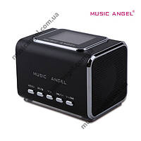 Портативная колонка Music Angel JH-MD05X - MicroSD, USB, MP3, FM радио. Оригинал!