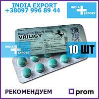 Пролонгатор ВРИЛИДЖИ 60 мг | Дапоксетин | 10 таб | дженерик Прилиджи