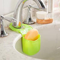 Подвесной силиконовый органайзер для кухонных принадлежностей (Салатовый)