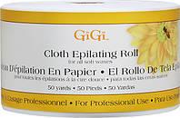 Безволоконные полоски для эпиляции, рулон - GiGi Cloth Epilating Roll