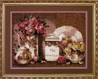 Набор для вышивки   крестом   Чайный  Натюрморт