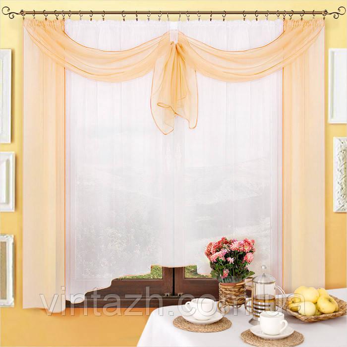 Готовые шторы в кухню в интернете