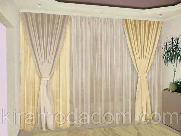 шторы фото с подхватами