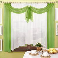 Готовые шторы и тюль для кухни