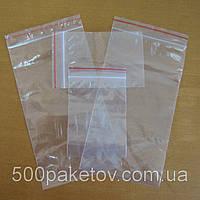 Пакеты с zip-lock 8х12см