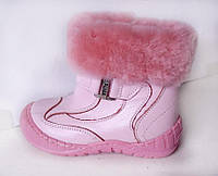 Распродажа!!! Зимние сапожки Турция Panda  розовые ортопедические