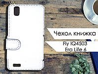 Чехол книжка для Fly IQ4503 Era Life 6
