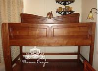 """Эксклюзивная кровать """"Нанси"""" (стиль «ар-нуво»). Массив ольхи., фото 1"""