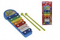Музыкальный инструмент Ксилофон Веселые ноты Simba (683 4043)