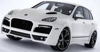 Аэродинамический комплект обвесов TechArt для Porsche Cayenne 2011 (058.100.050.009)