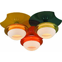 Люстра INL-9298C-03 Orange, Yellow, Green Altalusse Чехия