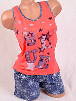 Комплект женский  майка+шорты 80638