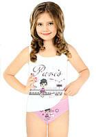 Комплект нижнего белья для девочки: маечка и трусики! ots 8503