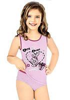 Комплект нижнего белья для девочки: маечка и трусики! ots 8505