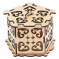 Шкатулка для драгоценностей 80154 Вудмастер