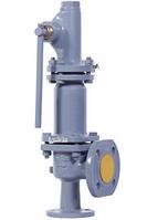 Предохранительный клапан СППК4Р-40 17с25нж Ду40 Ру40