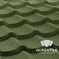 Композитная черепица QueenTile Standard 1-тайловый Green