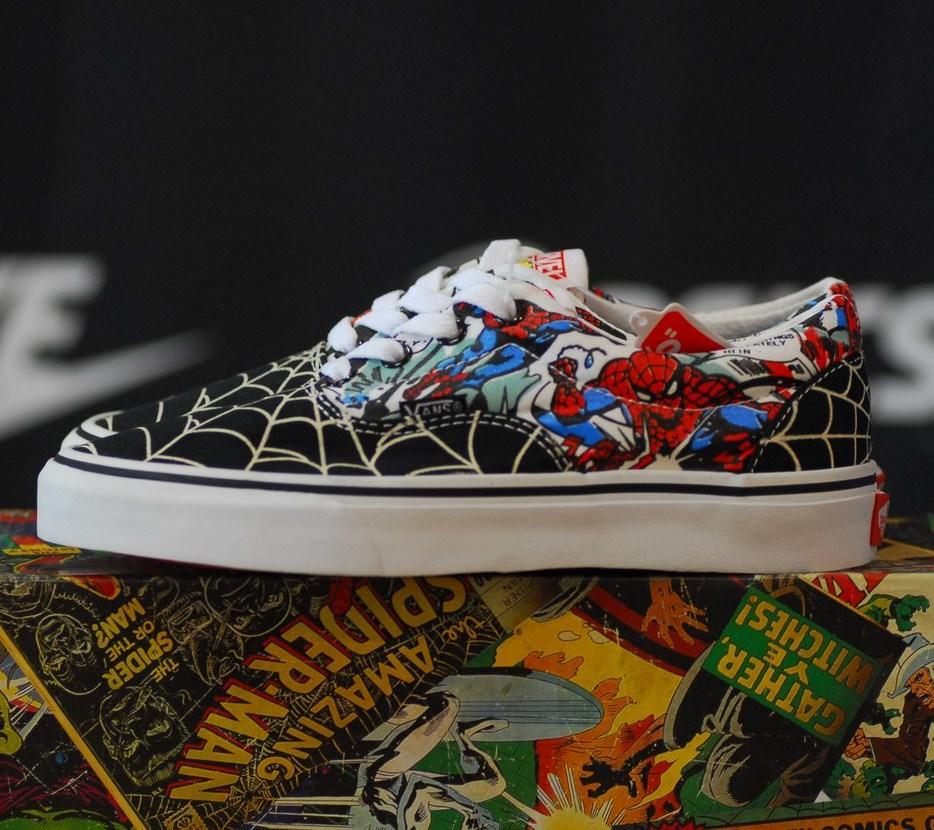... shades of 88dd9 de211 Vans Era Marvel Spider Man кеды женские вэнс  марвел человек паук, ... 1f4fa37197e