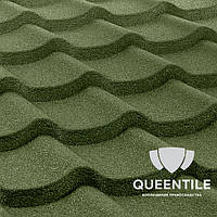 Композитная черепица QueenTile Standard 3-тайловый Green