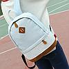 Джинсовый рюкзак с кружевом, фото 2