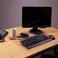 Коврик под ноутбук для защиты стола прозрачный 40х62см. Толщина 1,0мм