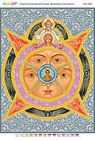 """Схема для вышивки бисером иконы """"Всевидящее Око Божие"""""""