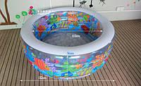 """Детский надувной бассейн """"Аквариум"""" 58480"""