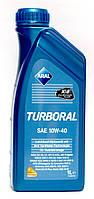 Aral Turboral SAE 10W-40 - моторное масло полусинтетика - 1 литр.