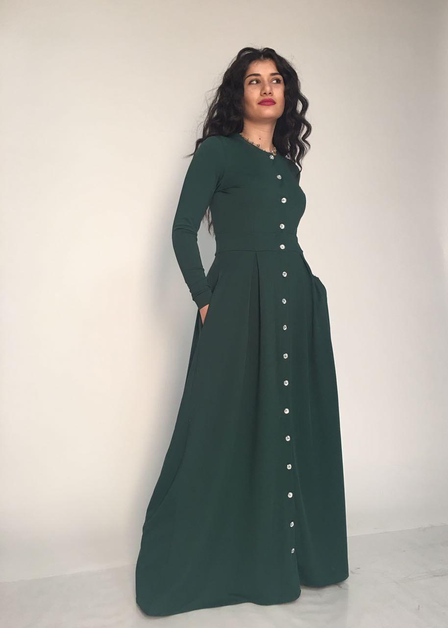 b9406c65d3c Тёплое платье макси  продажа