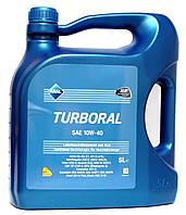 Aral Turboral SAE 10W-40 - моторное масло полусинтетика - 5 литров.